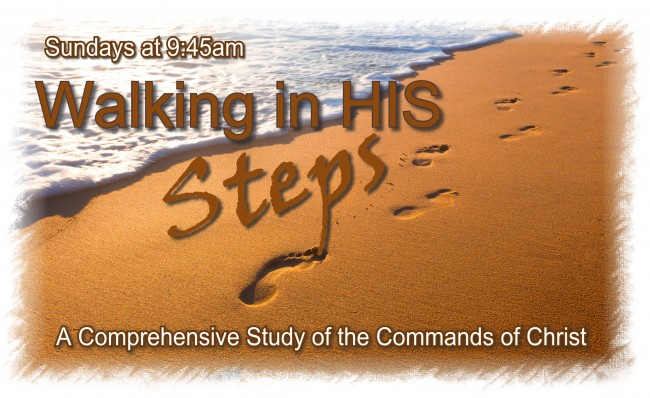 Walking in HIS Steps
